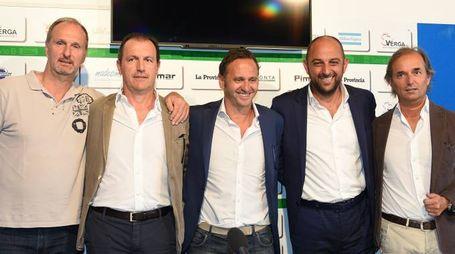 Fabio Bruni, Gianluca Andrissi, Fabio Gallo, Diego Foresti, Pietro Porro