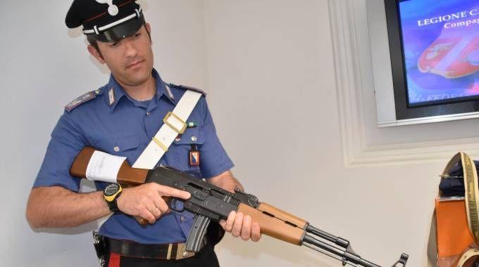 """Ladro di armi in manette: """"Abbiamo evitato una strage"""" / FOTO"""