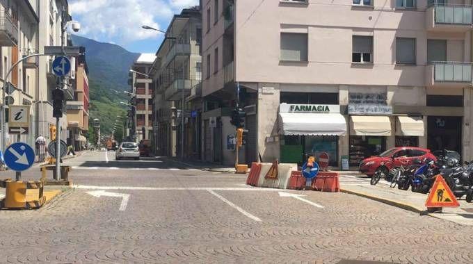 Sondrio, via ai lavori di piazzale Bertacchi /VIDEO