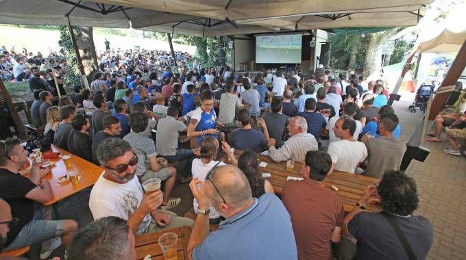 Italia-Spagna vista dai tifosi. Le foto della grande festa