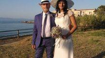 Simona e Claudio  hanno detto sì in riva al mare di Cala Giovanna