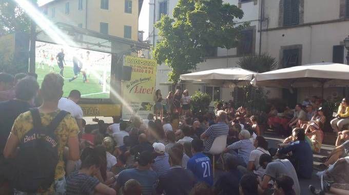 Febbre azzurra: per Italia-Germania maxi schermo in Corso Garibaldi