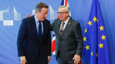 David Cameron e Jean-Claude Juncker