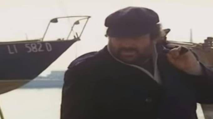 """Quando Bud Spencer girò a Livorno """"Bulldozer"""" e """"Bomber"""""""