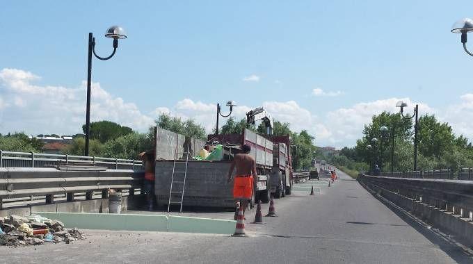 San Romano-Castelfranco, ponte chiuso per lavori
