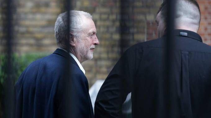 Jeremy Corbyn, leader del Partito Laburista (Afp)