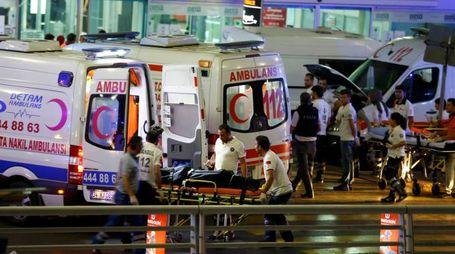Attentato all'aeroporto Ataturk (Lapresse)