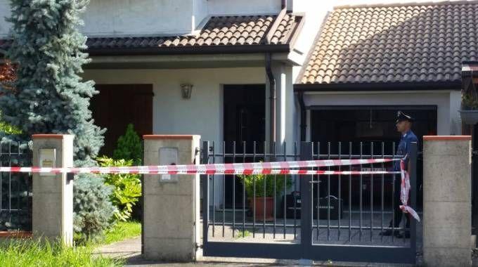 La casa di Santa Maria Maddalena, dove è avvenuto l'omicidio-suicidio