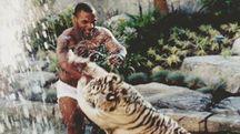 Mike Tyson e la sua tigre bianca
