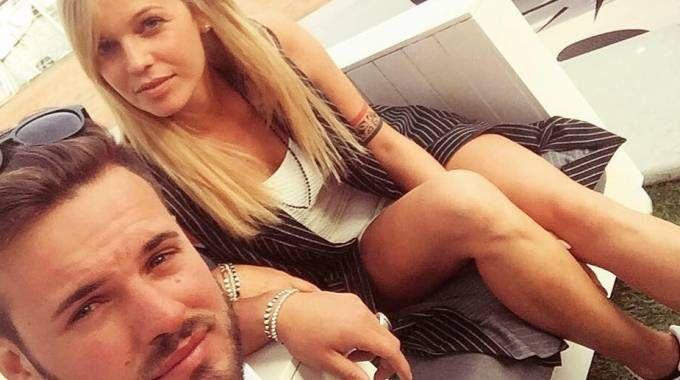 Yana Ivanilova e Regis Da Silva insieme a Pesaro (Foto da Facebook)