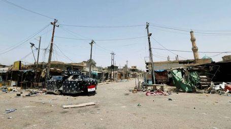 Le rovine di Falluja strappate all'Isis