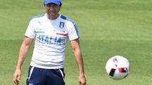 L'allenatore della nazionale Antonio Conte (Ansa)