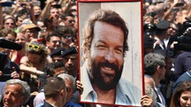 I funerali di Bud Spencer (AFP)