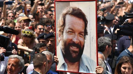 I funerali di Bud Spencer (AFP)
