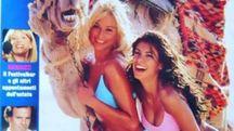 Elisabetta Canalis e Maddalena Corvaglia (Instagram)