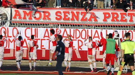 20-02-16 Rimini - Calcio Lega Pro Rimini vs Pontedera - Tifosi in curva  / PHOTO FABRIZIO PETRANGELI