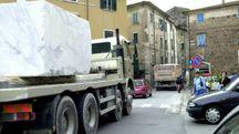I camion potrebbero tornare in città, dal monte Sagro, per un periodo di 6 mesi