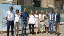 Foto di gruppo per la nuova giunta