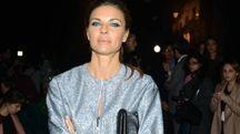 La bellissima Martina Colombari, tra gli ospiti vip di 'Cna-Idee in Moda' (foto Olycom)