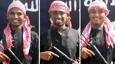 Membri del commando che ha assaltato il ristorante di Dacca (Ansa)