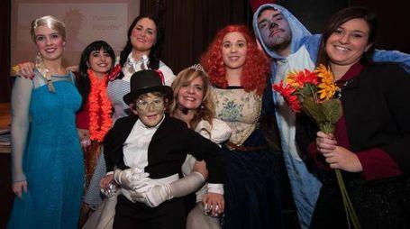 Parte del cast dello spettacolo