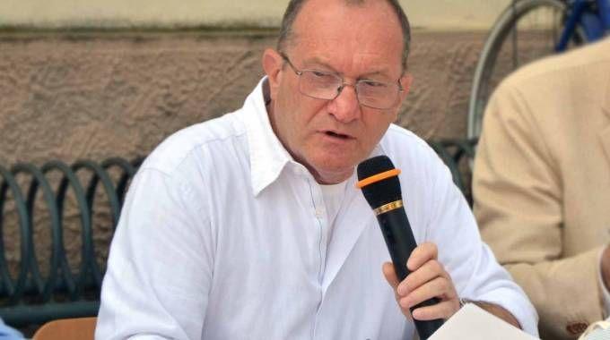 Giancarlo Rando, 69 anni, portacolori di una lista civica