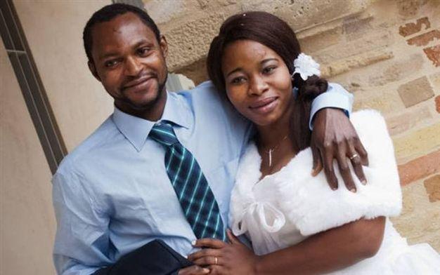 Emmanuel Chidi Namdi con la moglie Chimiary (foto Zeppilli)