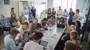 La conferenza stampa di don Vinicio Albanesi  (foto Zeppilli)