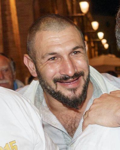 Nigeriano ucciso a Fermo: Amedeo Mancini, l'ultrà indagato per la morte di Emmanuel (Foto Zeppilli)