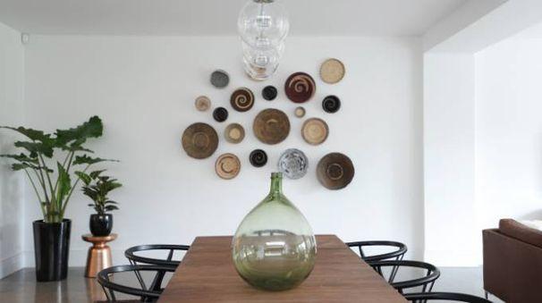 decorare le pareti di casa con un mix di cesti - magazine - tempo ... - Come Decorare Una Parete Di Casa