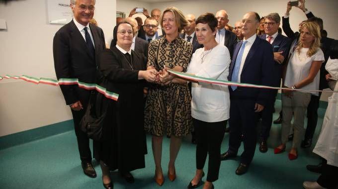 Il ministro Lorenzin inaugura una nuova ala della Poliambulanza di Brescia