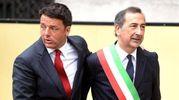 Matteo Renzi e Beppe Sala a Milano