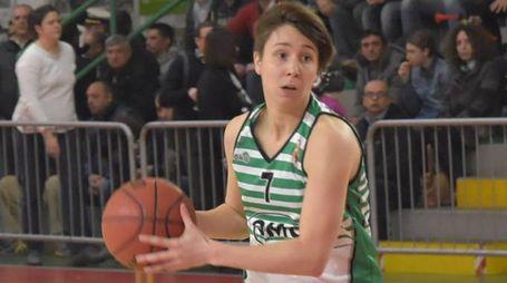 broni basket a2 femminile  foto torres broni basket a2 femminile  foto torres    Virginia Galbiati