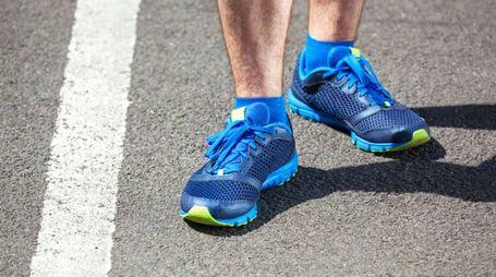 Avere i piedi lunghi non influenza il modo di correre - Foto luckyraccoon/Alamy