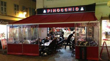 La gelateria Pinocchio di Nizza