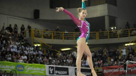 Lissone la ginnasta del Gal Carlotta Ferlito, con la Nazionale alle Olimpiadi di Rio