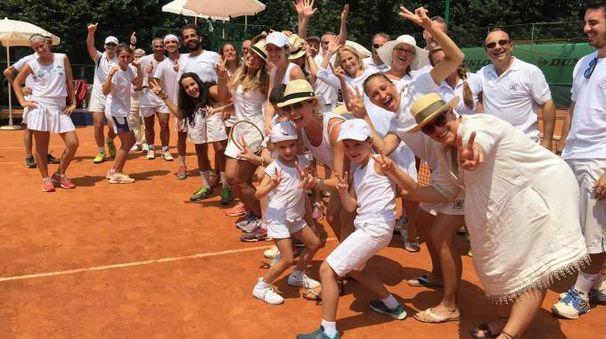 Un salto nel passato sui campi del Tennis Rozzano