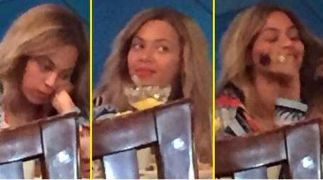 Beyoncé fotografata nel ristorante a Milano