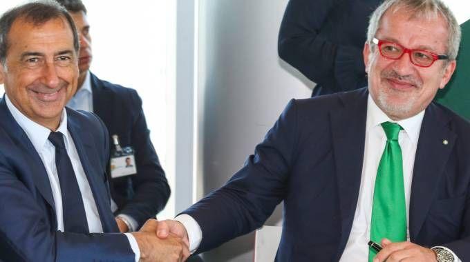 Beppe Sala e Bobo Maroni: intesa sul dopo Brexit per Milano
