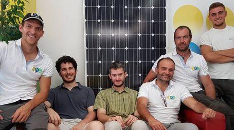 Il gruppo della Nrg Energia