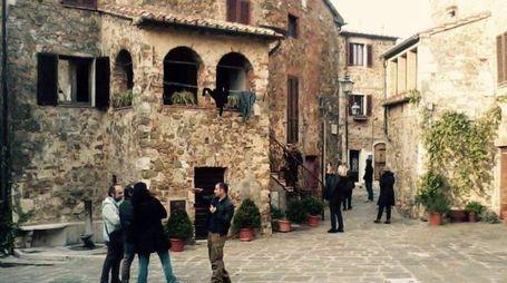 Uno scorcio del borgo di Manciano