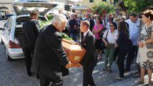 I funerali di Buchignani a Sant'Anna (foto Alcide)