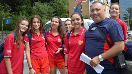 Le ragazze spagnole a Chiavenna