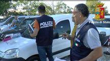 Il sequestro della polizia