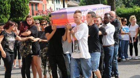 Reggio Emilia, i funerali di Denny Faraboni (Artioli)