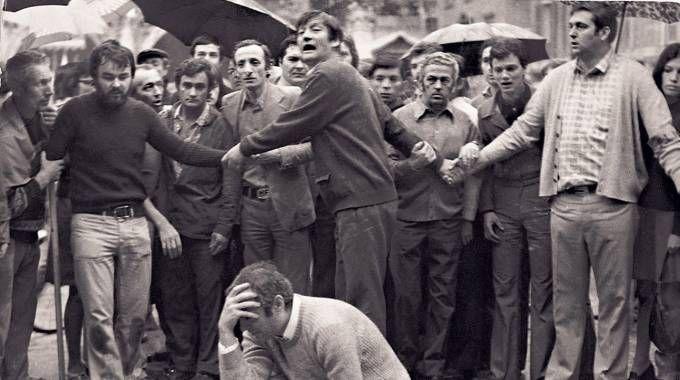 Una foto dell'epoca racconta la strage di piazza della Loggia