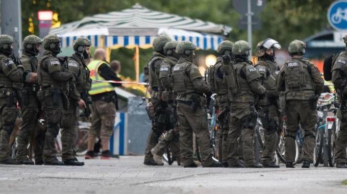 Attentato a Monaco, la città tedesca blindata (Ansa)