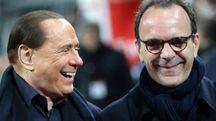 Stefano Parisi con Silvio Berlusconi (Ansa)