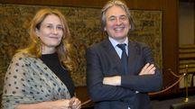 Rai: la presidente Monica Maggioni e il direttore generale Antonio Campo Dall'Orto (Ansa)