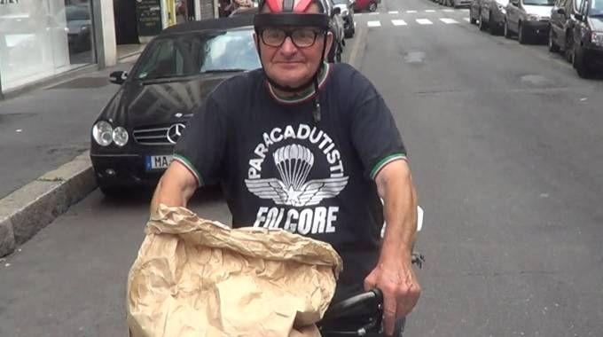 Giuseppe Campari, l'ex macellaio che sfama i bisognosi della Centrale e di Porta Venezia